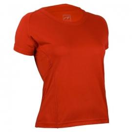 Hardloopshirt Dames korte mouw - Rood