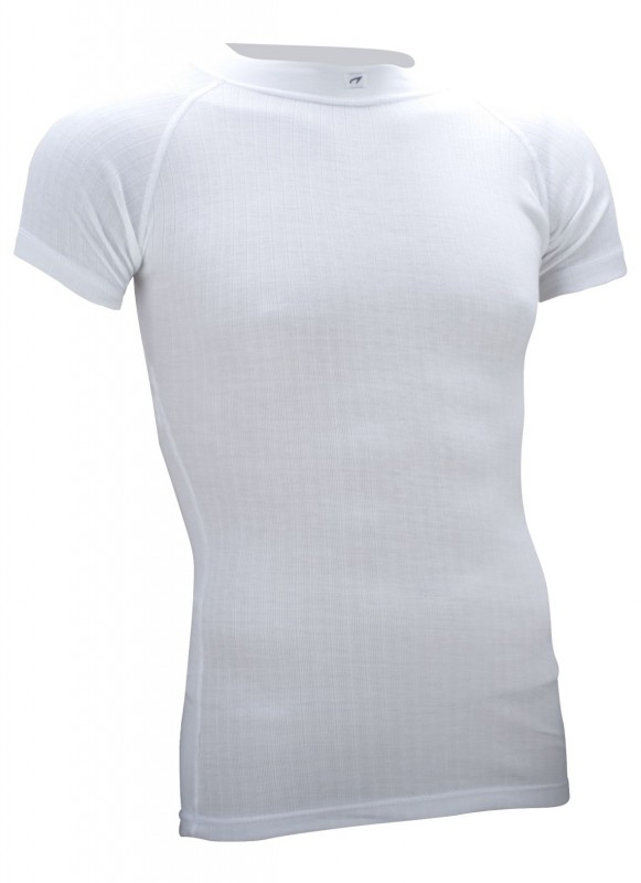 Thermoshirt korte mouw wit - Heren