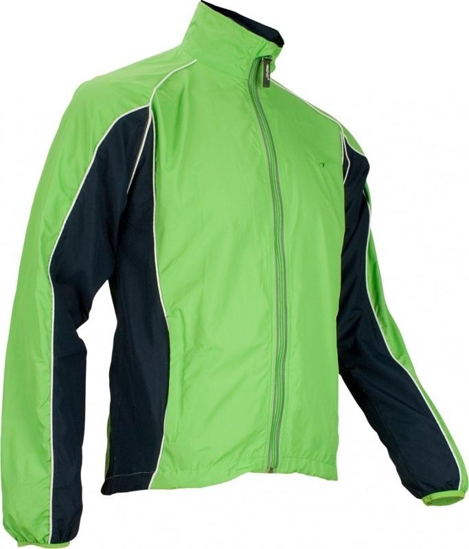 Hardloopjack Heren - groen / donkerblauw