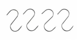 513538 Vleeshaken 90 x 4 mm 4 stuks