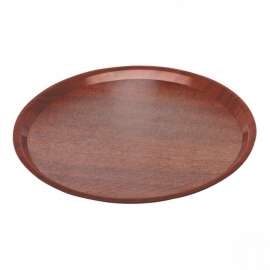 "507865 Dienblad ""woodform"" rond Ø380 mm"