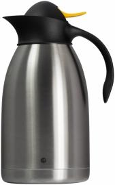 446720 Thermoskan gele drukknop 2 liter