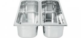 801666 Gastronormbak GN 2/4 Hoogte 100 mm