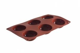 676202 Bakvorm siliconen Semi-Sphere