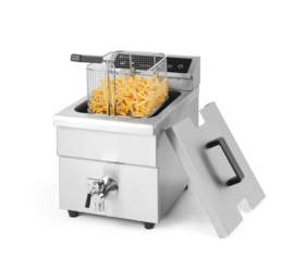 215012 Inductie Friteuse Kitchen Line 8 liter