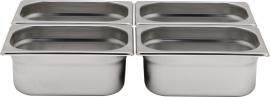 801604 Gastronormbak GN 1/4 Hoogte 200 mm