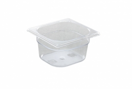 861738 Gastronormbak GN 1/6  1 liter polycarbonaat
