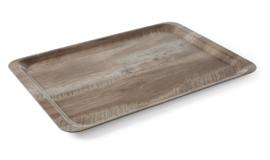 508923 Dienblad 240x350 mm houtbedrukking donker eiken