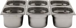 801703 Gastronormbak GN 1/6 Hoogte 200 mm