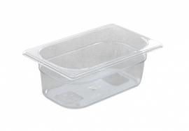 861639 Gastronormbak GN 1/4  1,8 liter polycarbonaat