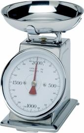 980033 Weegschaal met kom 2 kg max
