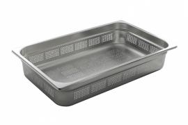 802229 Gastronormbak GN 1/1 Hoogte 100 mm geperforeerd