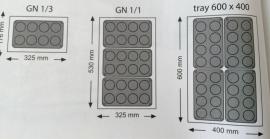 677308 Bakvorm siliconen Mini-Madeleines