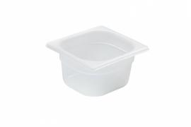 880425 Gastronormbak GN 1/6  Hoogte: 100 mm polypropyleen