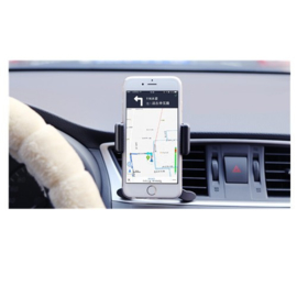 Universele smartphone luchtrooster auto airco vent houder