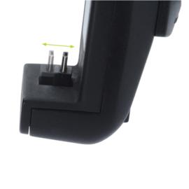 HR Richter universeel telefoonhouder met ingebouwde Micro USB oplader