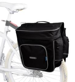 Roswheel fietstas universeel voor elke fiets zwart