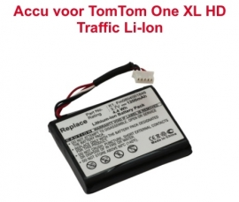 Accu Batterij TomTom ONE XL HD Traffic