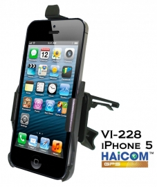 Haicom luchtrooster autohouder iPhone 5 5S