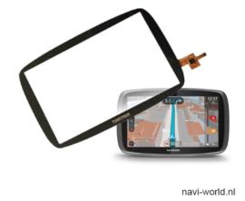 Digitizer touchscreen voorglas voor TomTom Go 6250