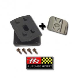 Draaikogel bevestiging met autohouder voor TomTom ONE XL v1