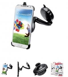 Celly Samsung Galaxy S4 Opmaat Telefoonhouder voor Raam en Dashboard