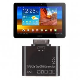 Samsung Galaxy Tab 8.9 / Tab 10.1 OTG Connection Kit Card Reader