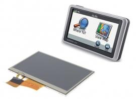 LCD scherm display voor Garmin nuvi 1300 1310 1310 1340 1350 1370 1390 2497LM 2495LM Nuvi 40LM