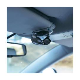 Zonnebril houder universeel met clip voor auto