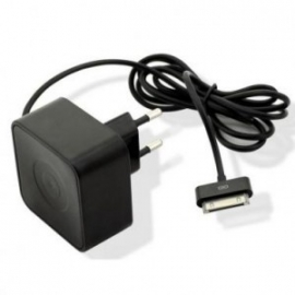 Muvit Thuislader SQ Zwart 1000mAh voor Apple iPhone 4 4S iPod 30 pins