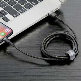 Baseus Cafule Cable USB Lightning iPhone iPad kabel 2.4A 1m QC3.0