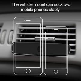 Baseus dubbel air vent magneet auto telefoonhouder
