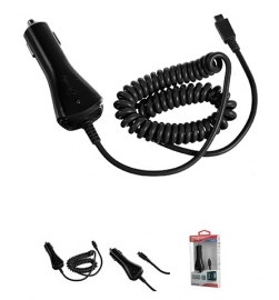 Autolader Car Charger Mini USB 12 24V 1A