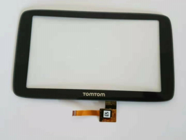 Digitizer touchscreen voorglas voor TomTom Via 53