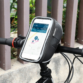 Wozinsky waterdicht stuur fiets houder tasje voor telefoon
