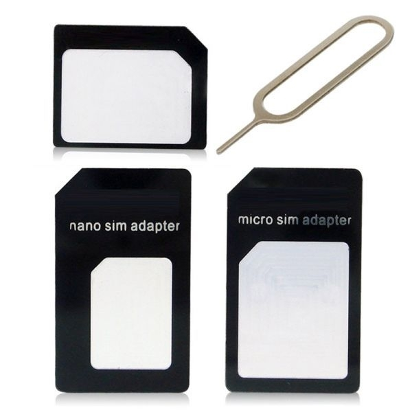 3in1 Micro SIM Nano SIM Adapters