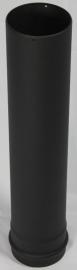 EW/Ø100 pijp 50cm - zwart