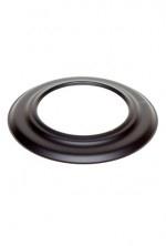 EW/Ø160 2mm Rozet (Kleur: Zwart)