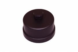 Pelletkachel condens dop voor t-stuk  ∅ 80mm