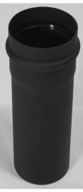EW/Ø100 pijp 25cm - zwart