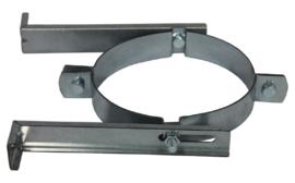 Muurbeugel Gegalvaniseerd 250mm - Zwart