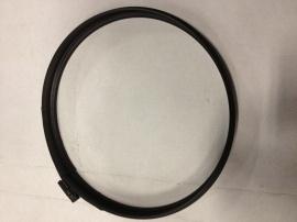 Klemband om rozet of paspijp vast te zetten (Kleur: zwart)