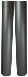 EW/Ø100mm Kachelpaspijp 105 - 195 cm (zon.verjongen ) Kleur: Antraciet DUN7000010