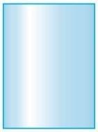 Kachelvloerplaat rechthoek met facet 400 x 1000 x 6 mm