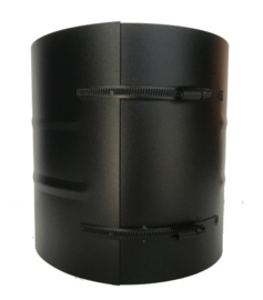 ISOTUBE Plus Klemband breed Ø150-200mm zwart