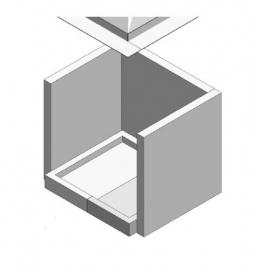 Set Stookstenen voor 50B x 50H/100H ( Grijs )