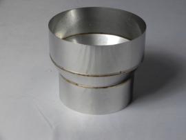 Verloopstuk conische rvs 078 -108 mm