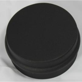 EW/Ø100 losse deksel voor T-stuk - zwart