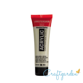 Amsterdam - All Acrylics - 20 ml - Napelsgeel  - Groen - 282