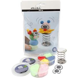 Mini Creatieve Set- klei - clowns